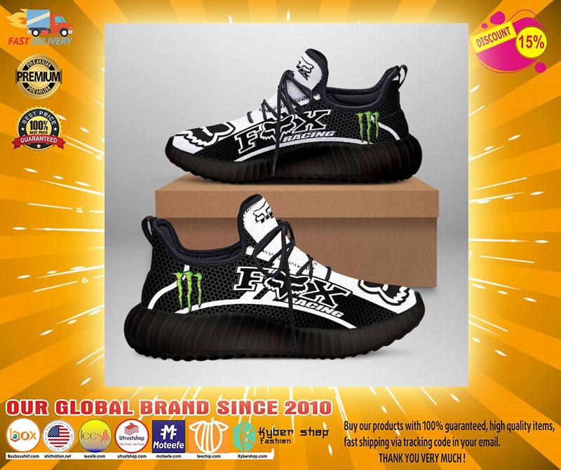 Fox racing monster energy yeezy and Jordan sneaker2