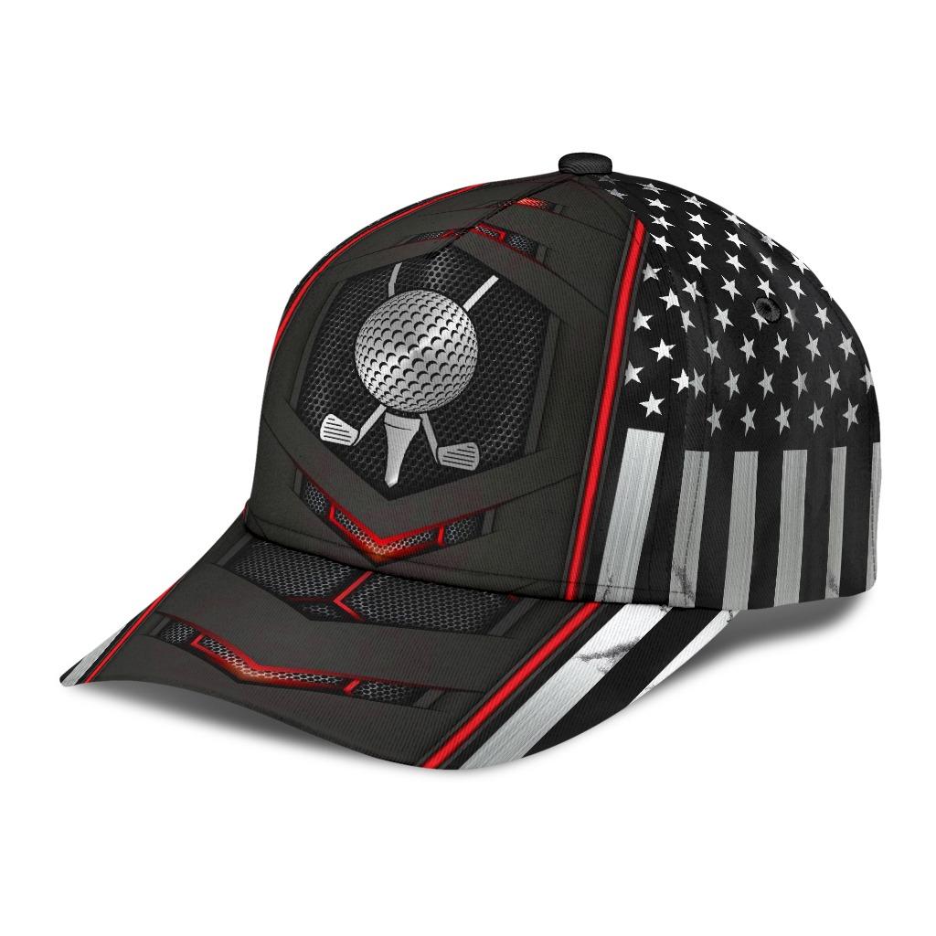 Golf red flag cap2