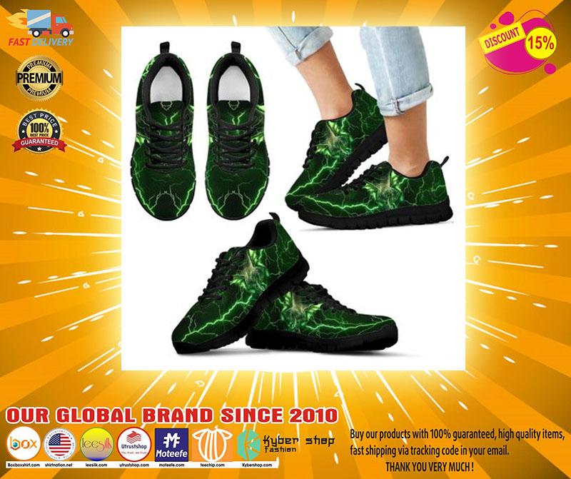 Green dragon sneaker2