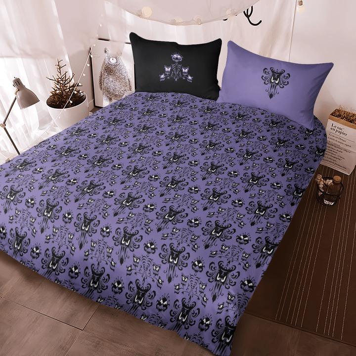 Haunted mansion quilt bedding set4