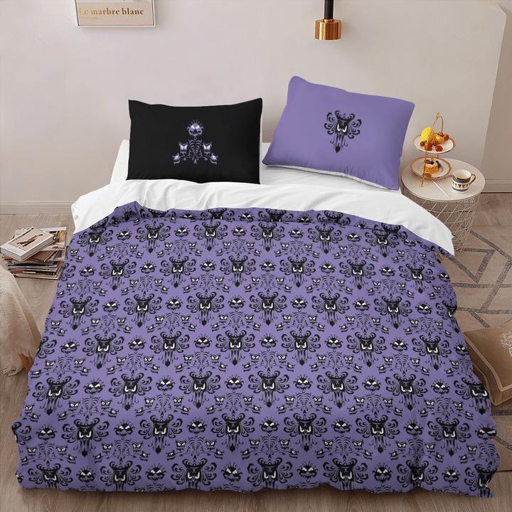Haunted mansion quilt bedding set3