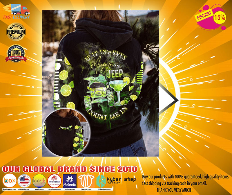 If it involves margaritas and jeep count me in 3D hoodie2
