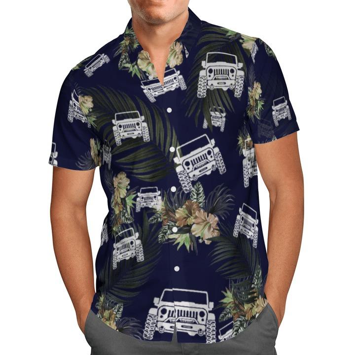 Jeep tropical hawaiian shirt5