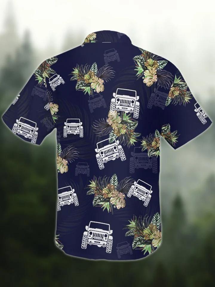 Jeep tropical hawaiian shirt3