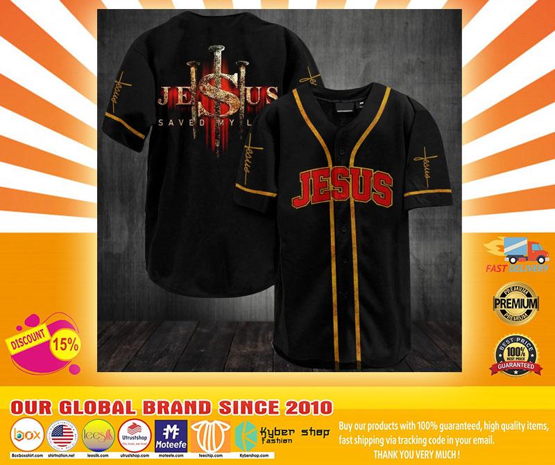 Jesus saved my life baseball jersey shirt4
