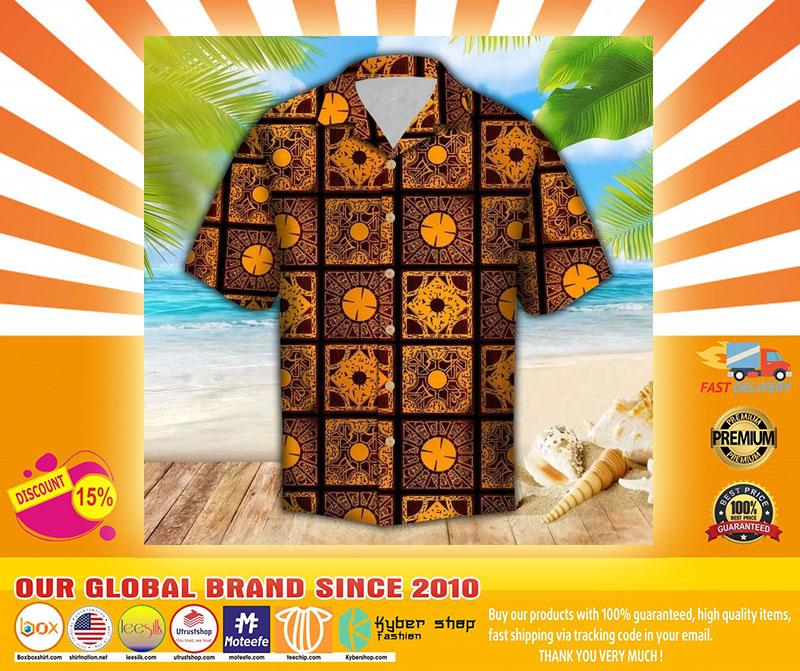 Lemar pattern hawaiian shirt4