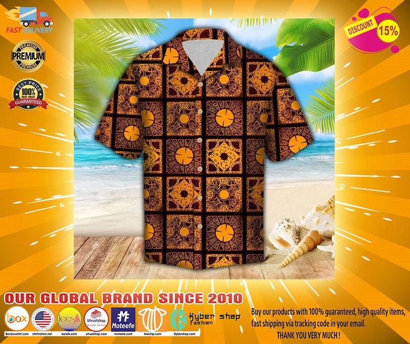 Lemar pattern hawaiian shirt2