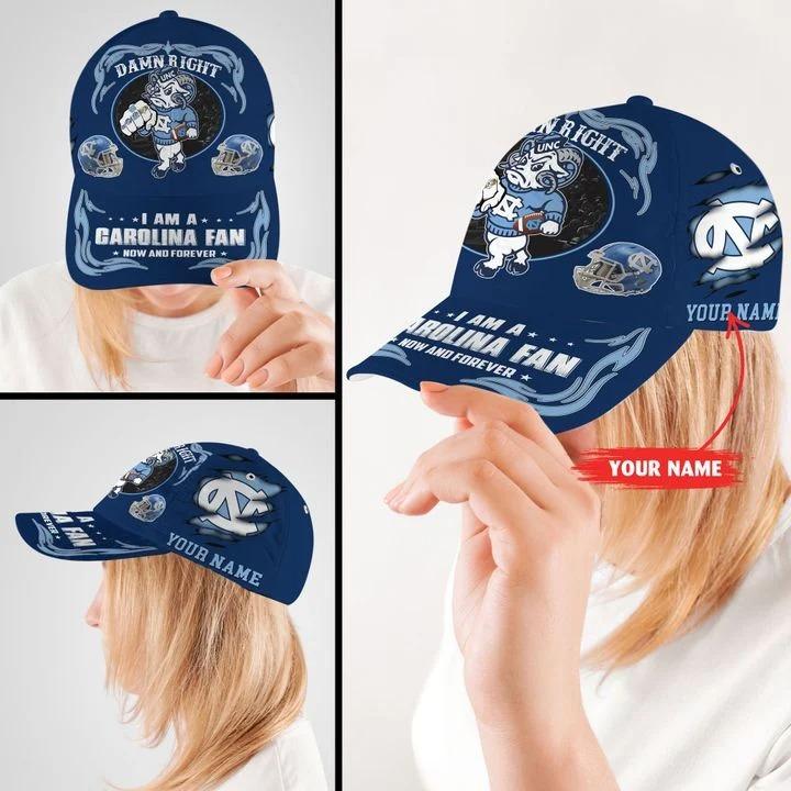 Northcthe capmascot Damn right I am a Garolina fan now and forever custom cap2