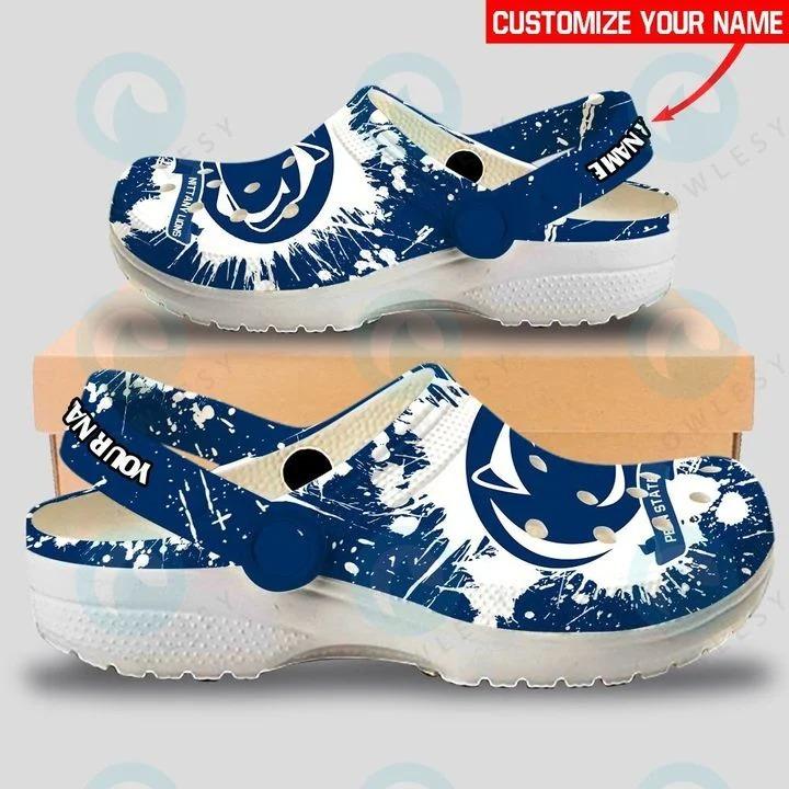 Penn State Nittany Lions custom name crocs crocband clog3