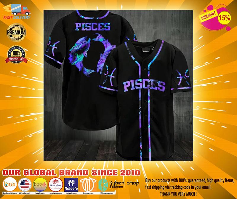 Pisces Baseball Jersey2