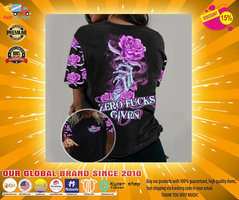 Rose zero kucks given 3D hoodie2