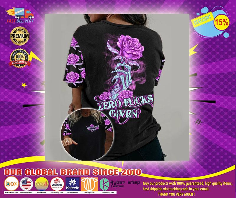 Rose zero kucks given 3D hoodie1
