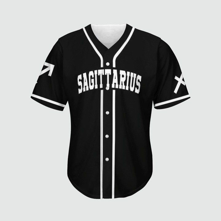 Sagittarius Baseball 3d Jersey2