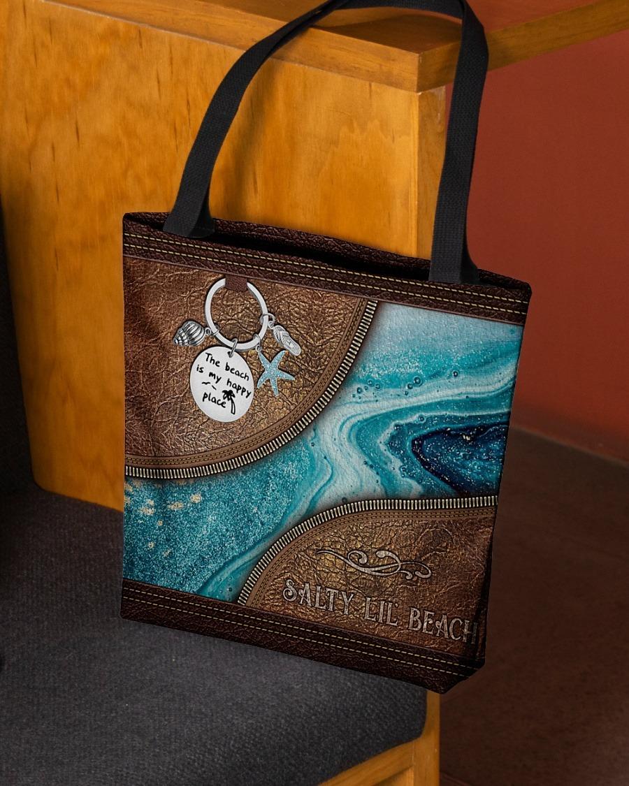 Salty lil beach tote bag3