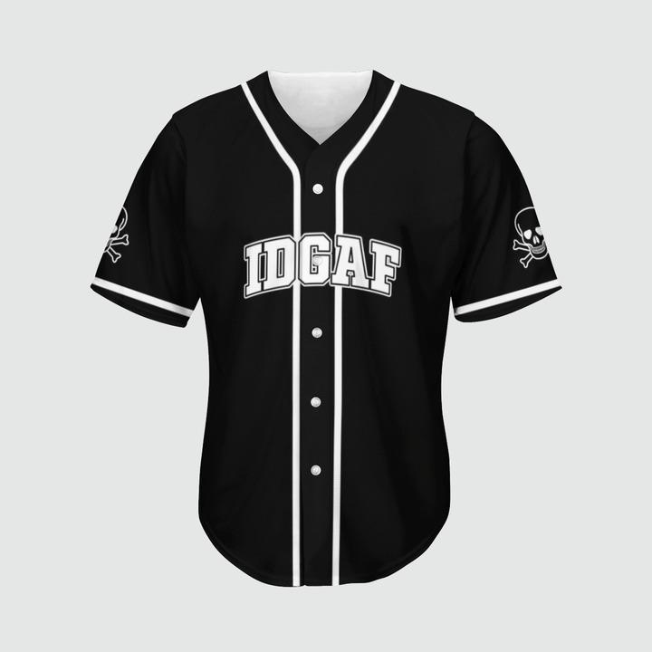 Skull ODGAF baseball jersey2