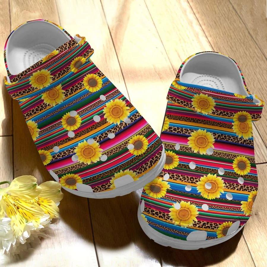 Sunflower crocs crocband clog4