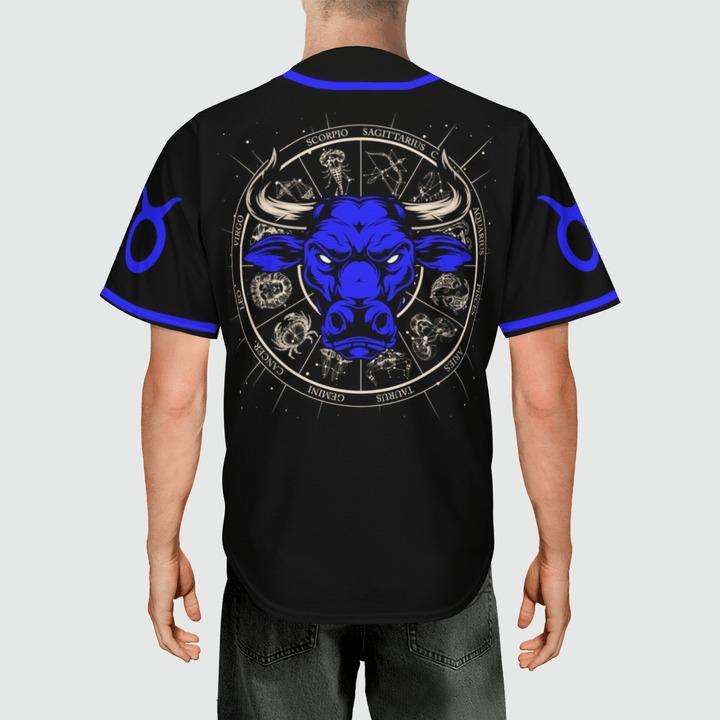 Taurus Awesome zodiac baseball jersey3