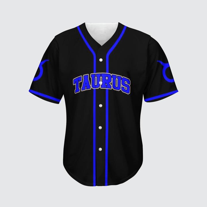 Taurus Awesome zodiac baseball jersey2