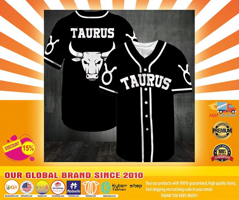 Taurus Baseball Jersey4