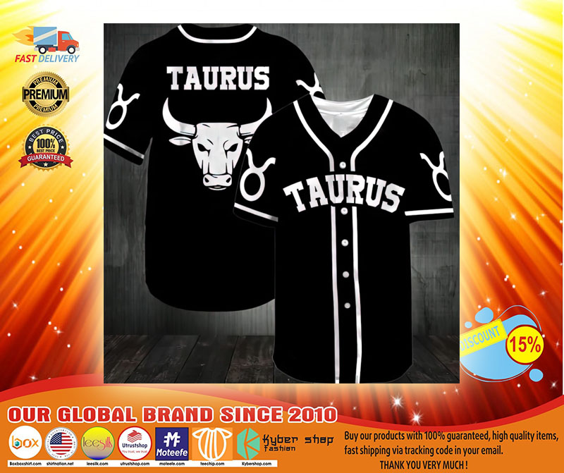 Taurus Baseball Jersey3