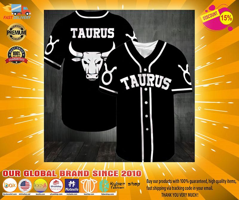 Taurus Baseball Jersey2