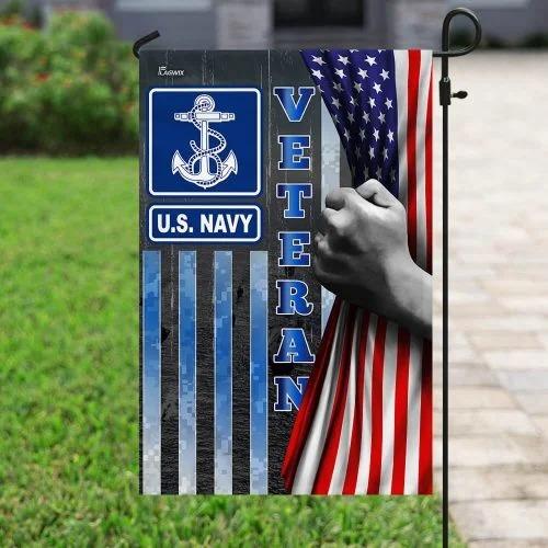 US Navy veteran American flag4 1