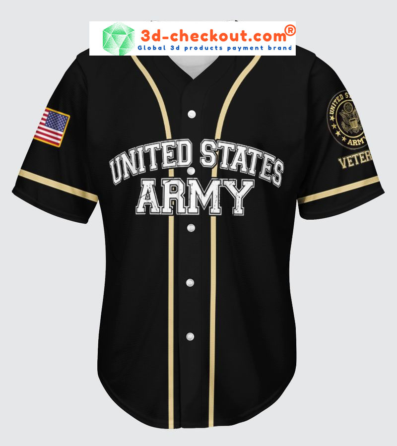 Veteran American flag All gave some gave all baseball jersey2