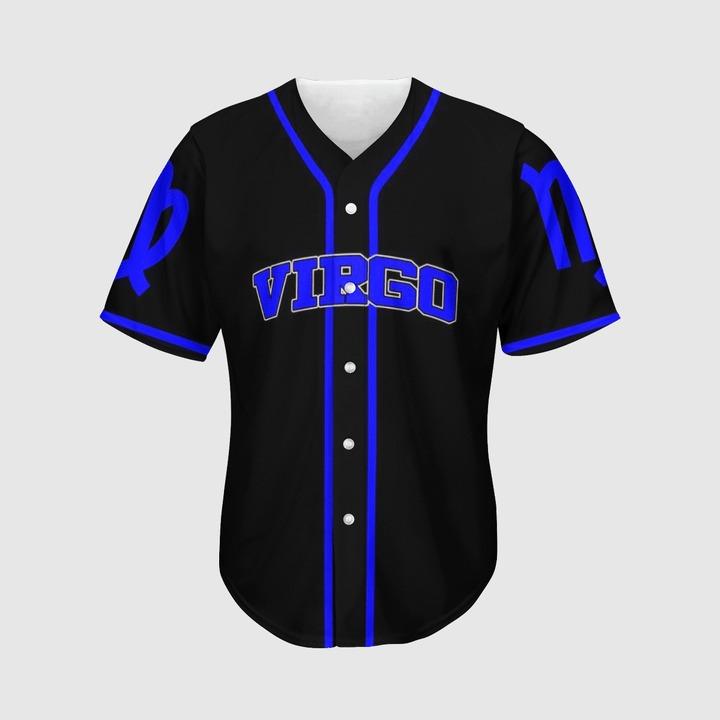 Zodiac Virgo Baseball Jersey2