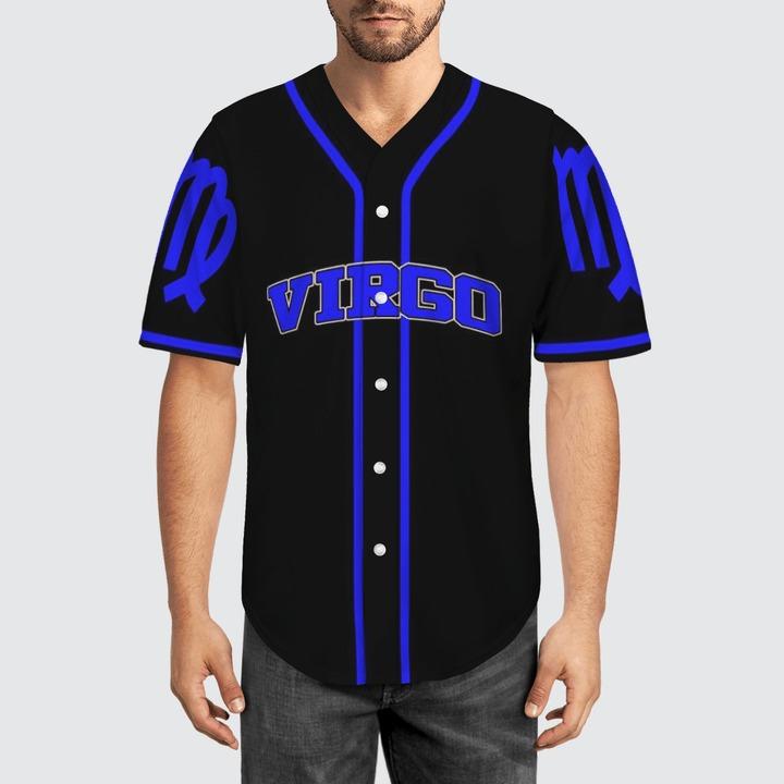 Zodiac Virgo Baseball Jersey1