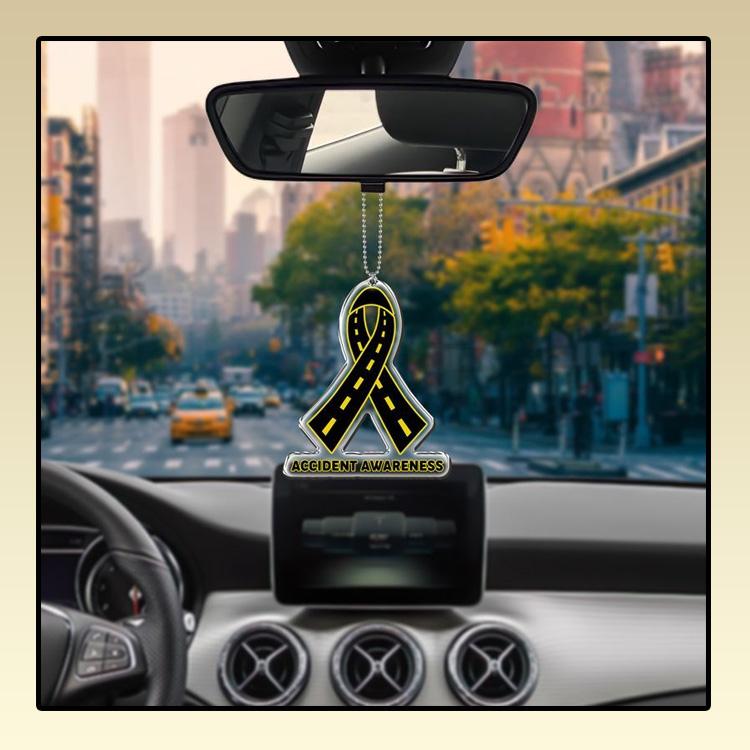 Accident Awareness car hanging Ornament 2 1