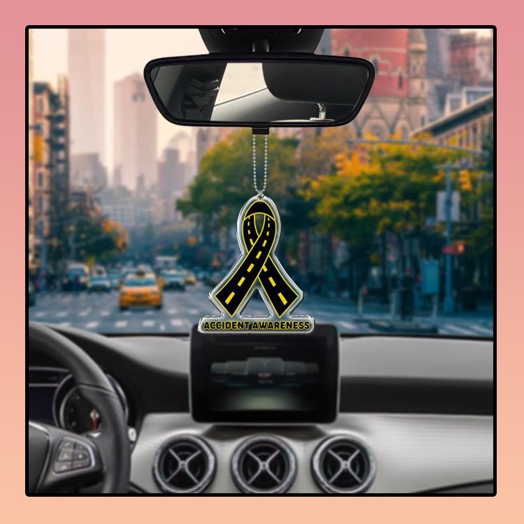 Accident Awareness car hanging Ornament 3 1