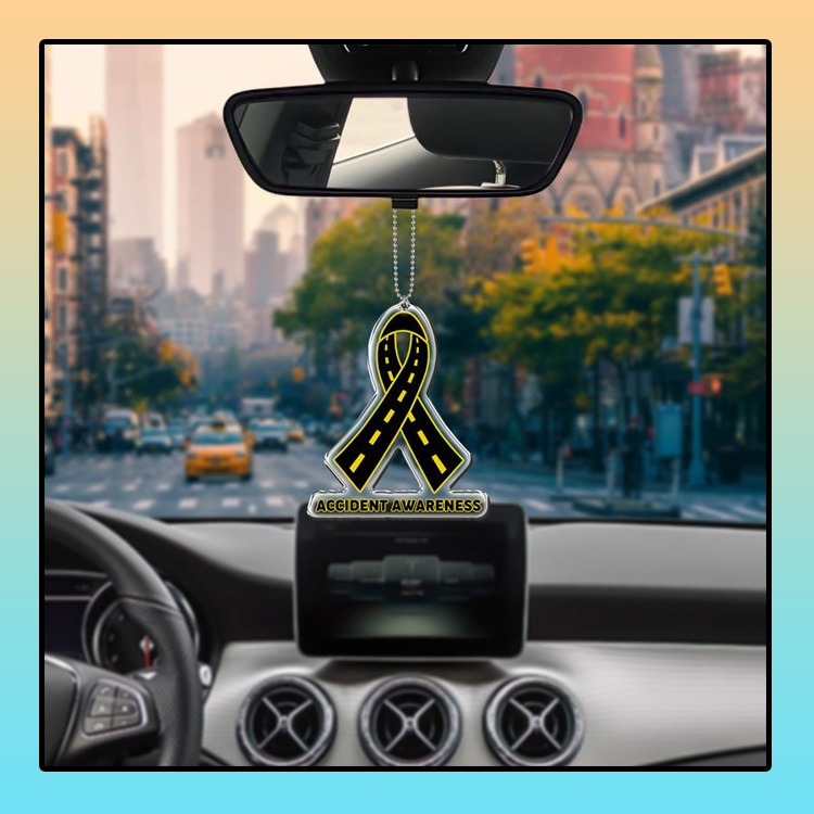 Accident Awareness car hanging Ornament 4 1