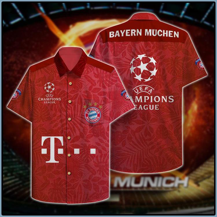Bayern Muchen Champion Hawaiian Shirt1