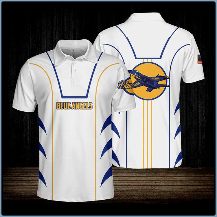 Blue Angels USN Polo Shirt5