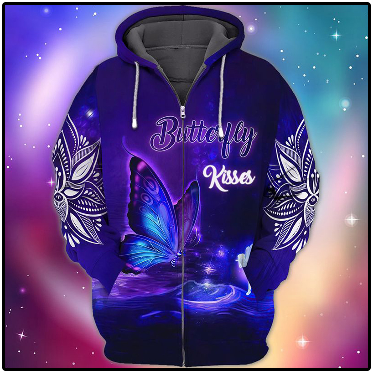 Butterfly Kisses 3D Hoodie1