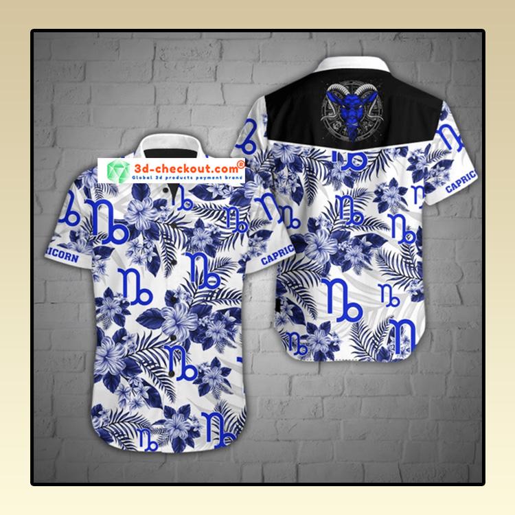 Capricorn tropical hawaiian shirt2