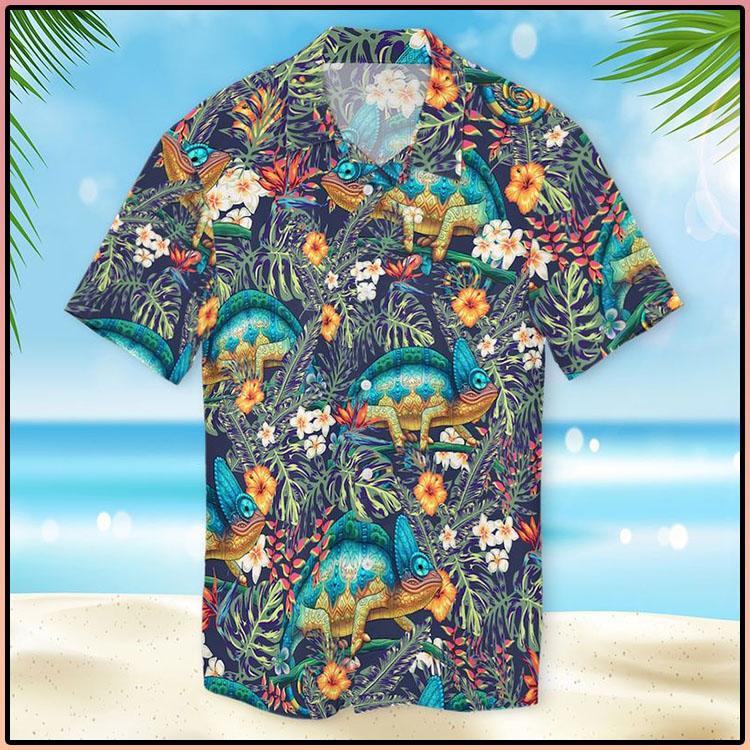 Chameleon Hawaiian Shirt4