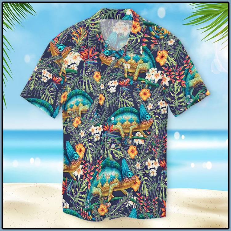 Chameleon Hawaiian Shirt6