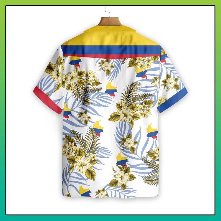 Colombia Proud Hawaiian Shirt2