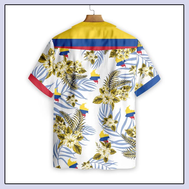 Colombia Proud Hawaiian Shirt3