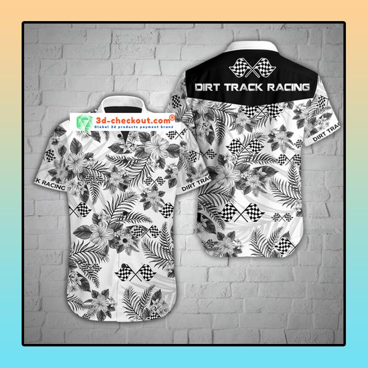 Dirt track racing hawaiian shirt 3