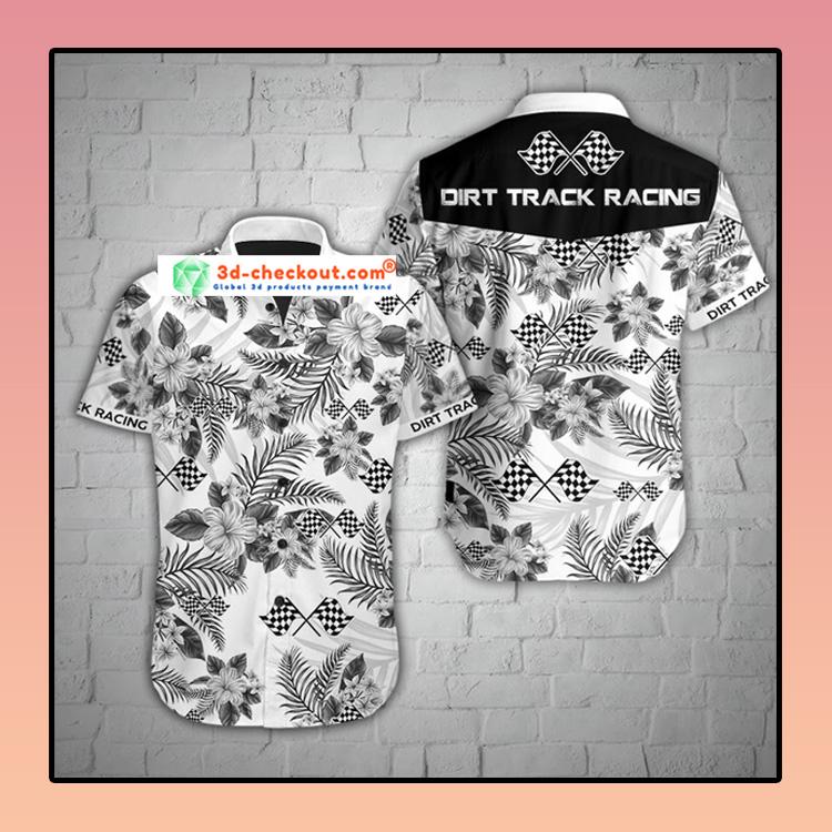 Dirt track racing hawaiian shirt 4