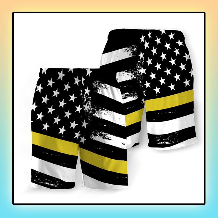 Dispatchers American Flag Beach Short