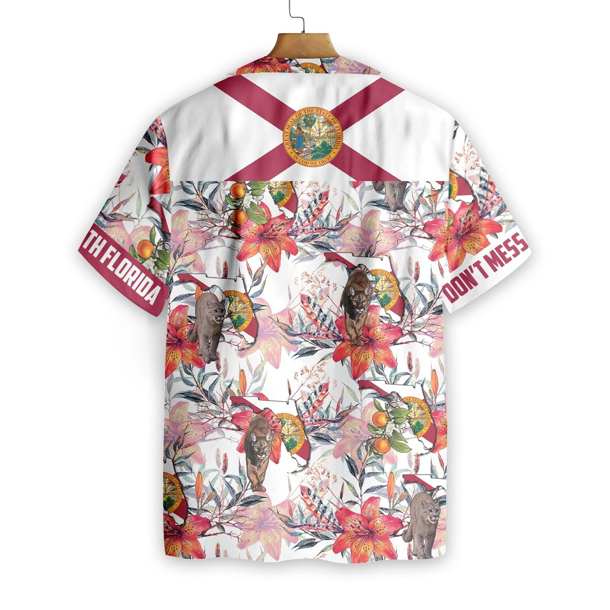 Florida Panther Hawaiian Shirt2
