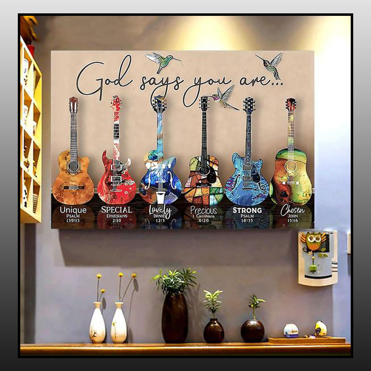 Guitar god says you are poster6