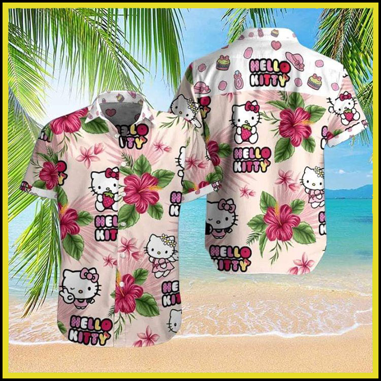 Hello kitty hawaiian shirt7