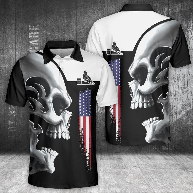 Horse Skull Polo Shirt