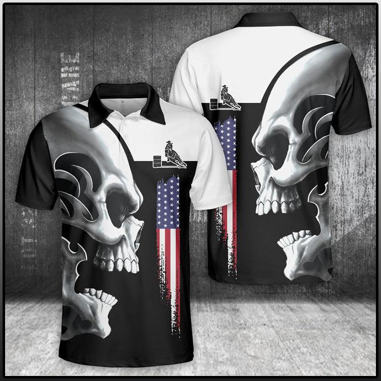 Horse Skull Polo Shirt1