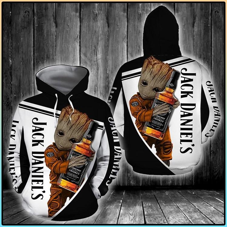 Jack Daniels 3D Hoodie3