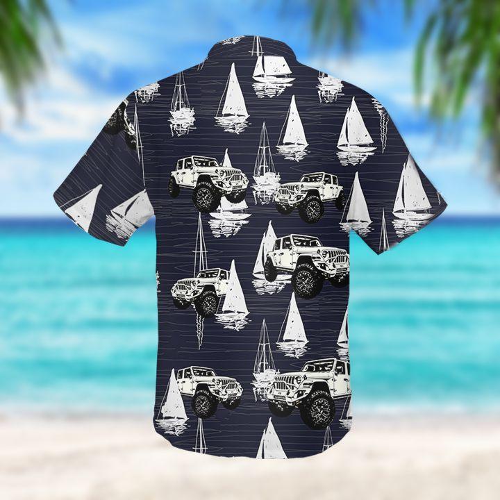 Jeep Sailboat Hawaiian Shirt2